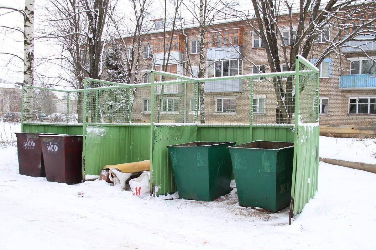 Жителей Рыбинска должны уведомлять о переносе контейнерных площадок