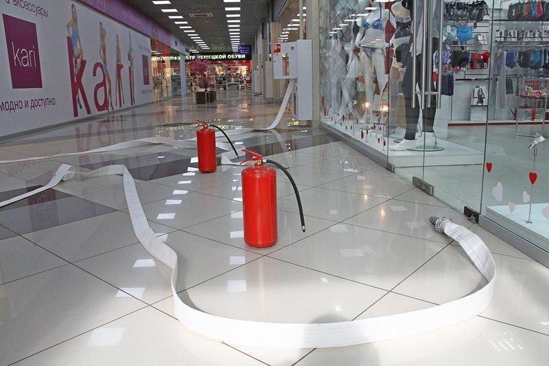 Торговые центры Рыбинска проводят внеплановые тренировки по эвакуации