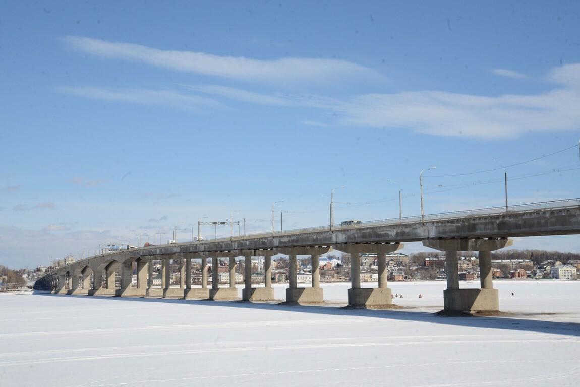 Подрядчик готов приступить ко второму этапу капитального ремонта моста через Волгу