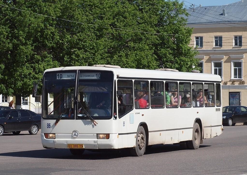 В Костроме автобусные маршруты 10 и 21 меняют путь следования и расписание