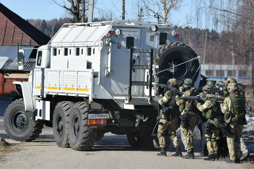 В связи с проведением учений в Костроме временно изменится схема организации движения транспорта