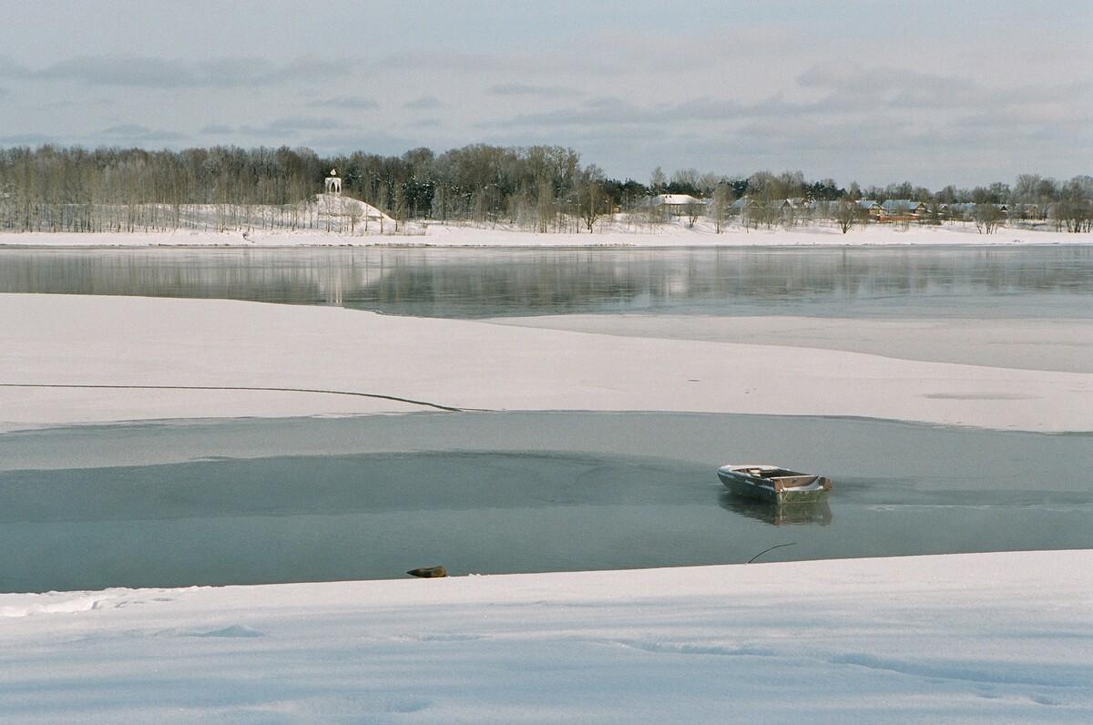 В Рыбинске запрет выхода на лед продлен до 22 апреля