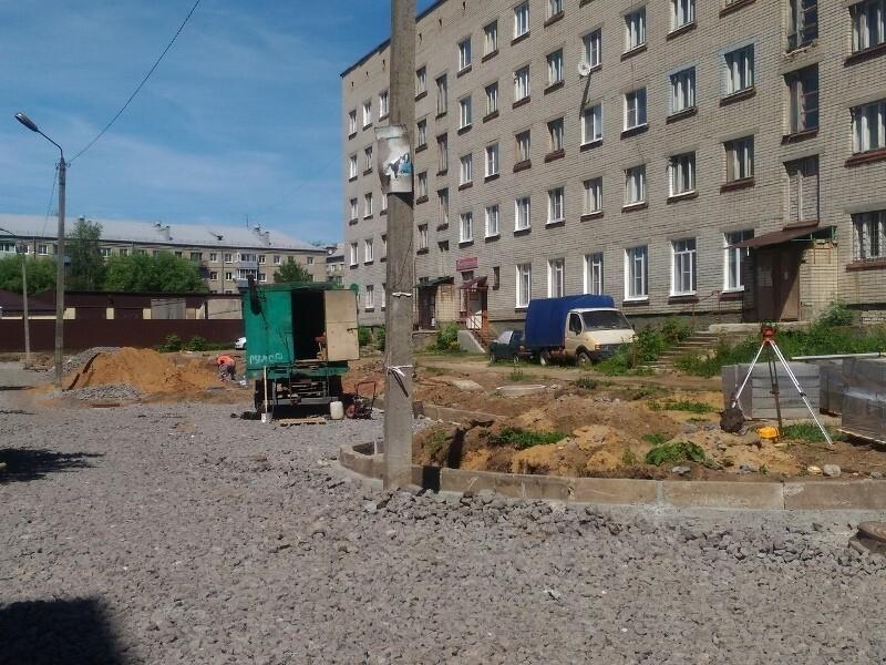В Рыбинске  за благоустройством дворов можно следить онлайн