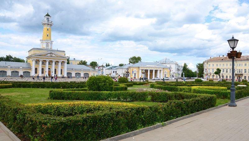В центральной части Костромы 21 июня будет временно изменена схема организации дорожного движения