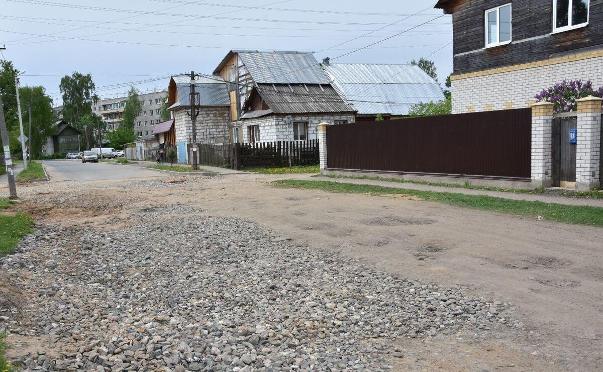 В Костроме в рамках нацпроекта начинается ремонт улицы Водяной
