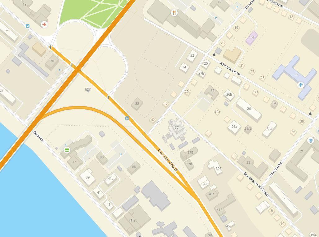 На улице Нижняя Дебря в Костроме будет ликвидирован один из остановочных пунктов общественного транспорта