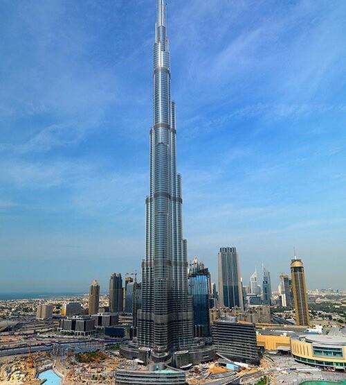 небоскреб в дубае бурдж халифа
