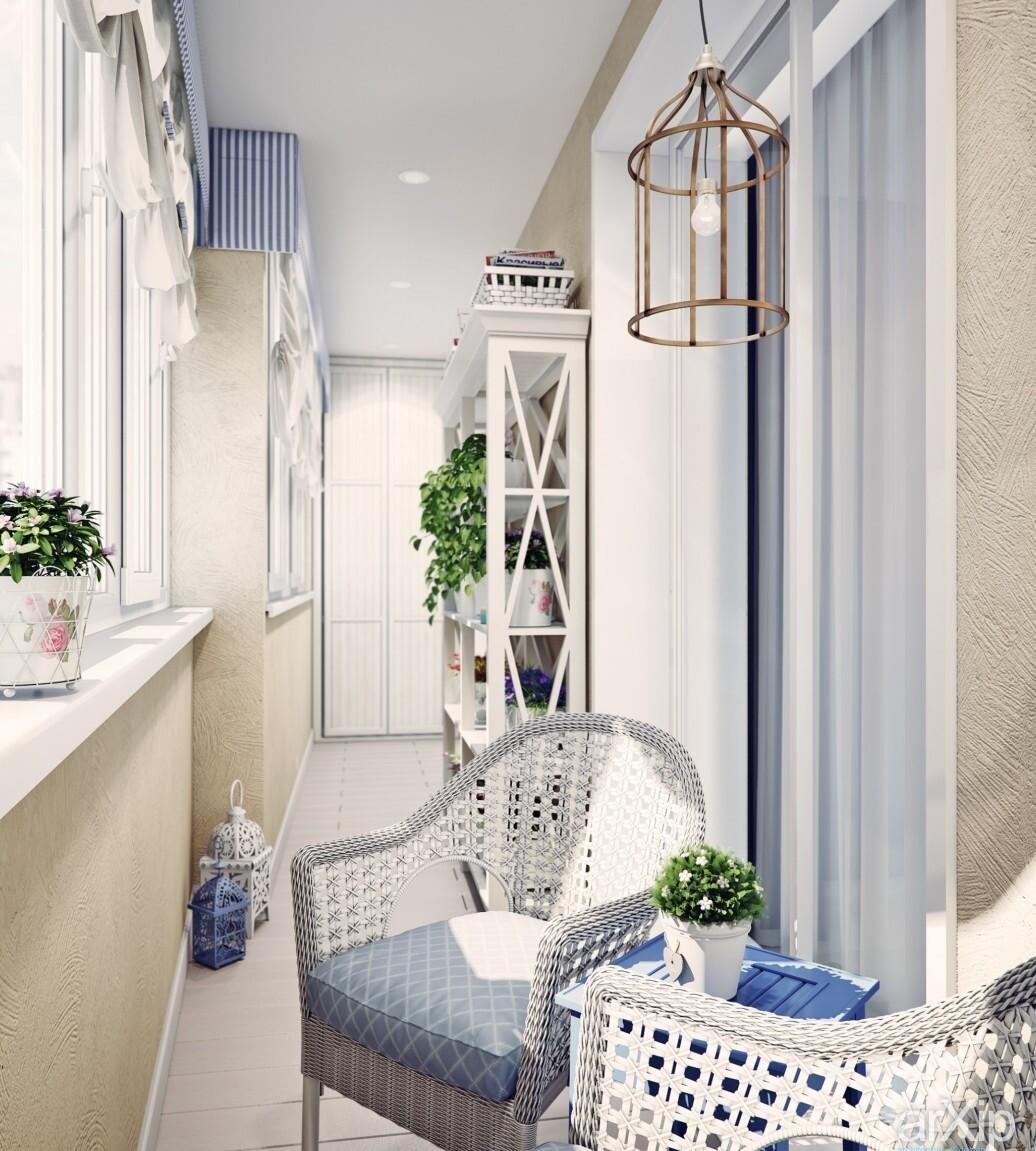 балкон в стиле профанс фото