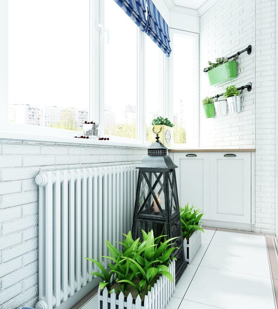 стиль в интерьере прованс на балконе