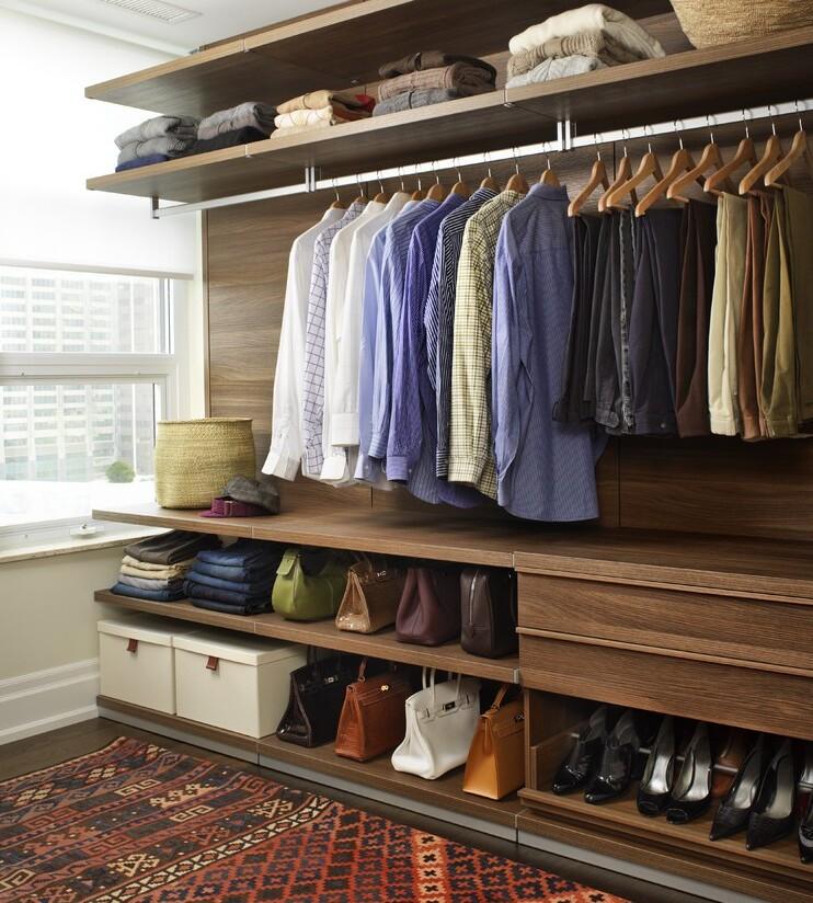 планировка гардеробной фото