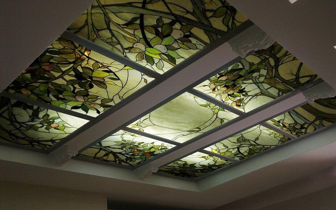 Использование витражного стекла | Роскошь и уют Фото