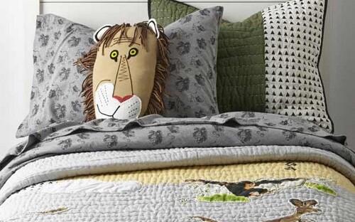 интерьер детской кровати