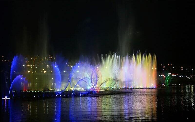 фото фонтана в чечне