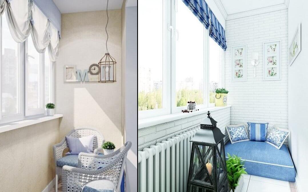 Балкон в стиле прованс: особенности дизайна и отделки.