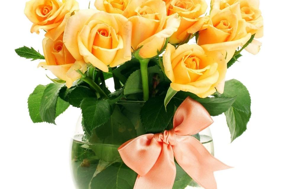 ваза для букета роз