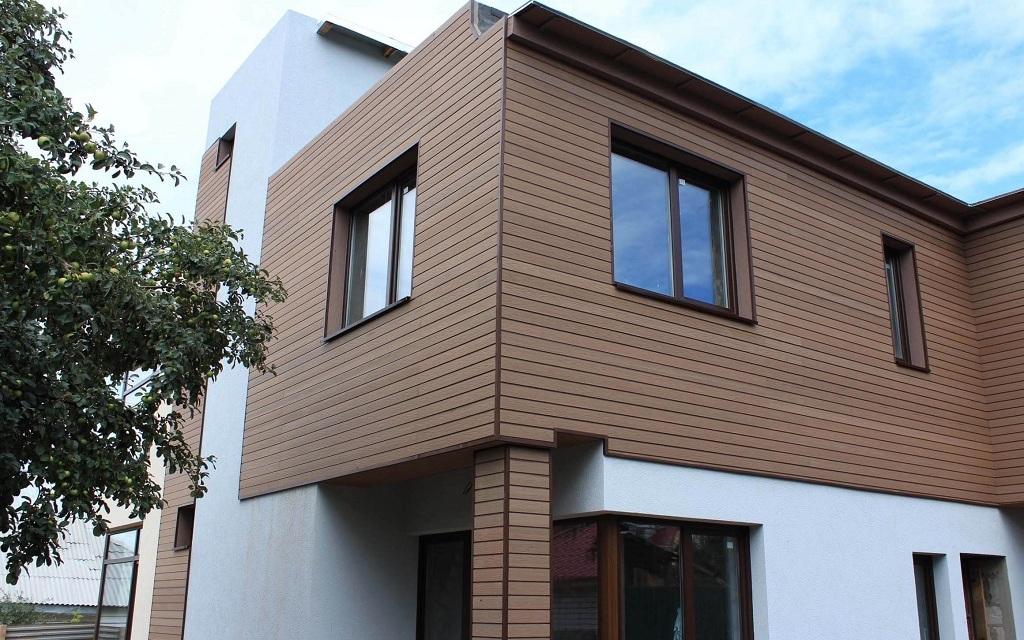 блок-хаус для фасада дома