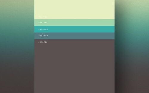 цвета в минимализме