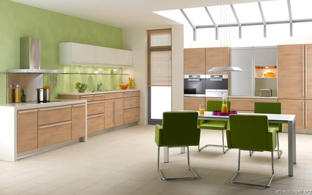 1499240917595c99d50a28e Комбинирование обоев на кухне | Роскошь и уют Фото
