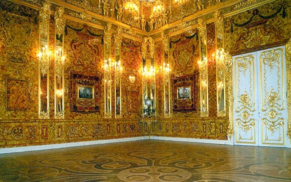 большой екатерининский дворец интерьер