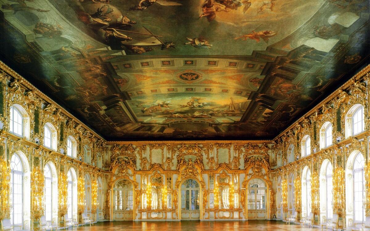 фрески большого екатерининского дворца