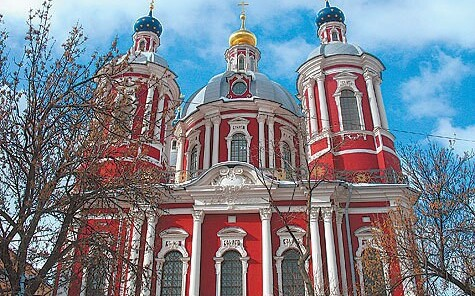 Московское барокко,нарышкинский стиль