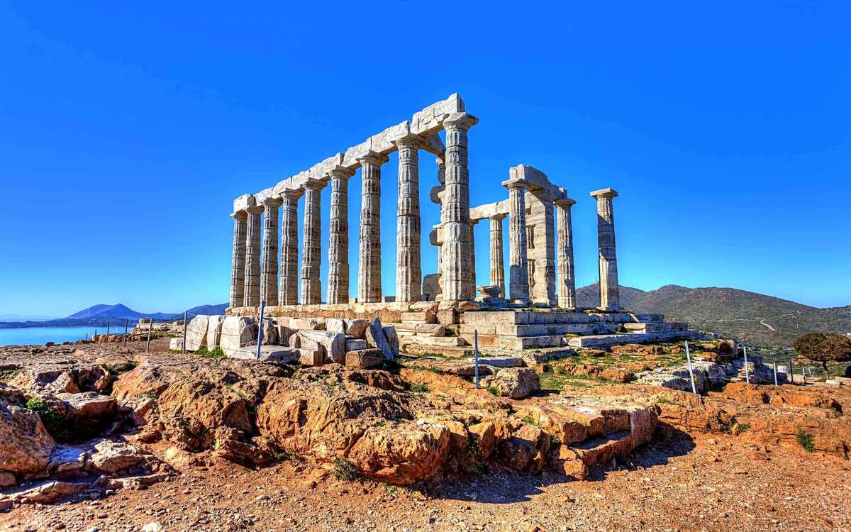 Храм Посейдона фото