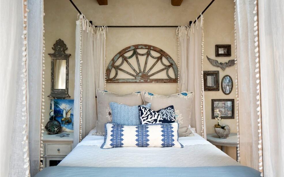 красивая кованая кровать