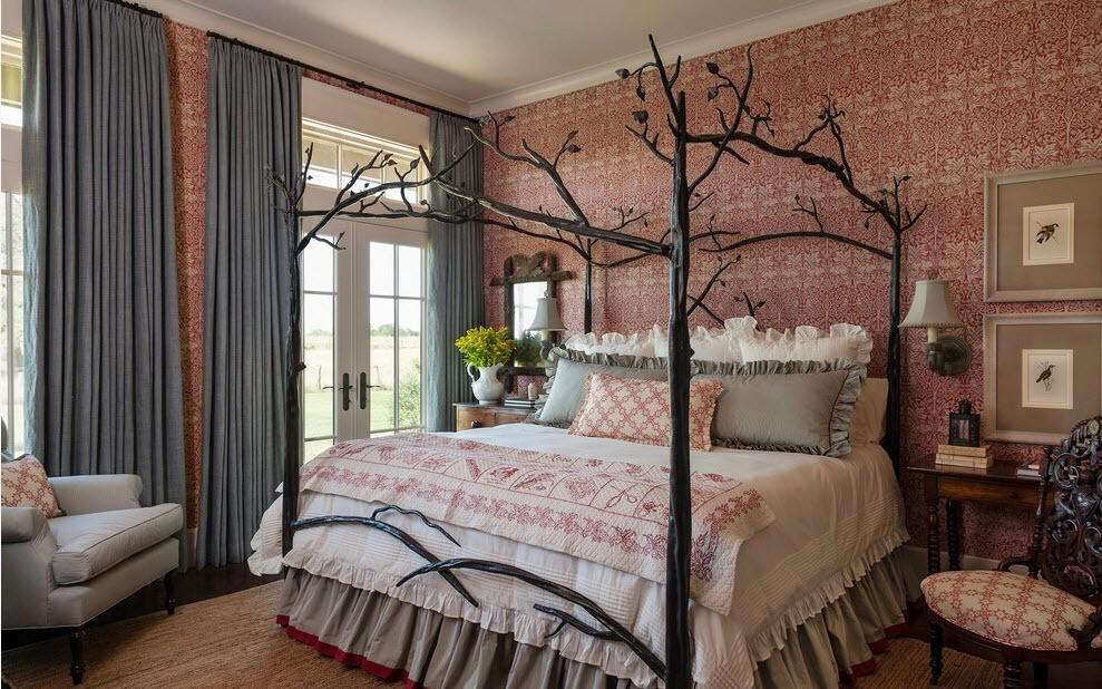 дизайнерская кована кровать
