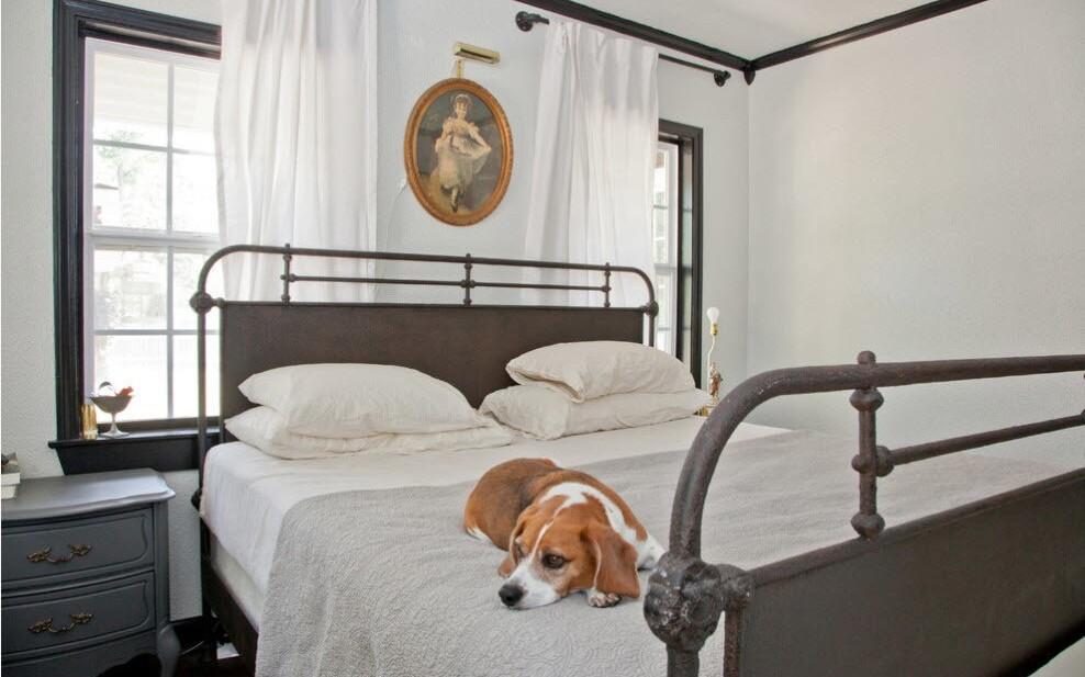 кованая кровать классика