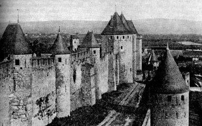 укрепления в средние века