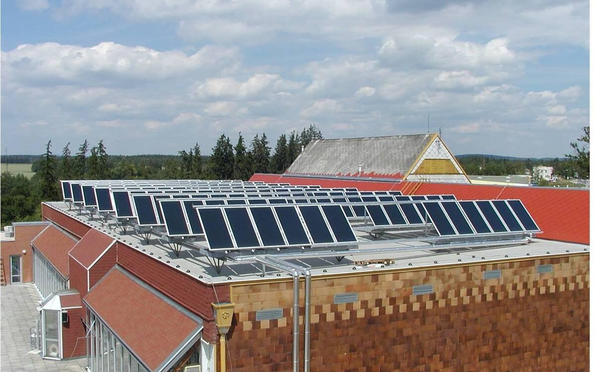 солнечные панели в умеренном климате