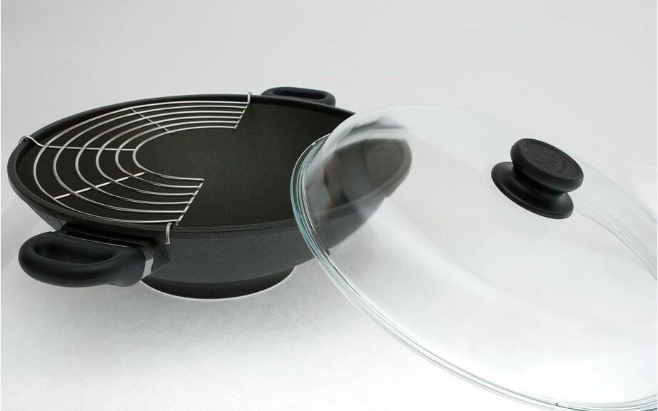 сковорода вок с двумя ручками