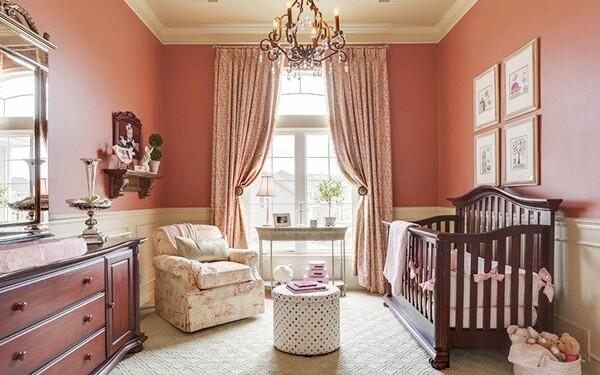 стильная комната для новорожденного