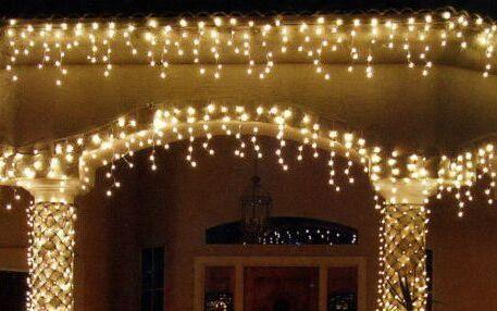 Бахрома украшение новогоднее