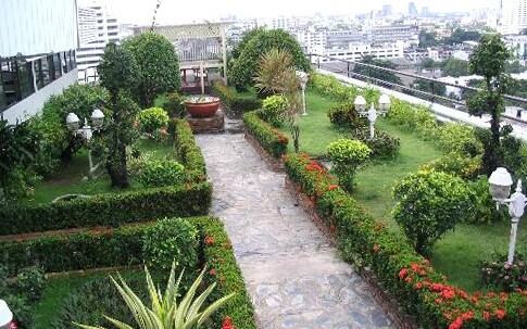 городские сады на крыше