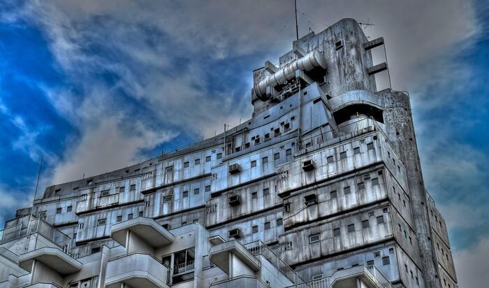 Токио – город с бесчисленным памятниками футуризма