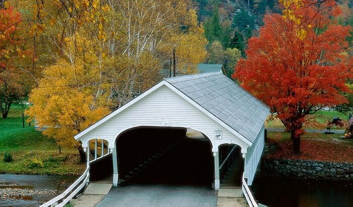 Крытые мосты как особенность американской архитектуры