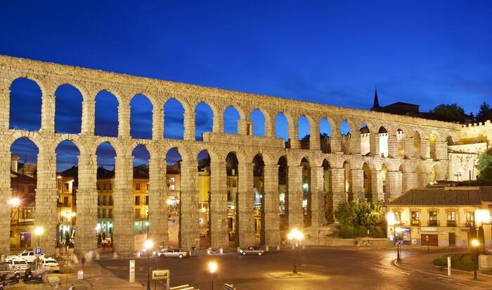 Пять римских акведуков в европейских городах, сохранившихся до наших дней