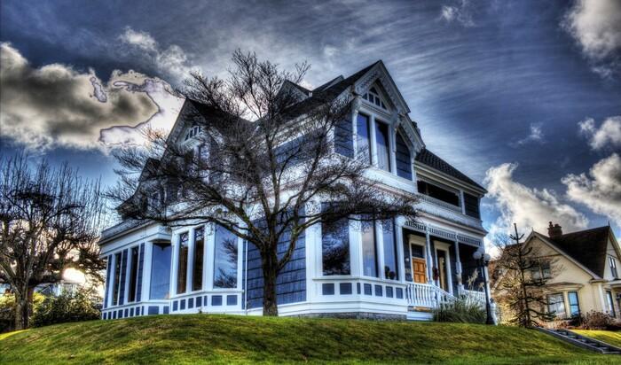 6 стилей домов викторианской архитектуры с примерами