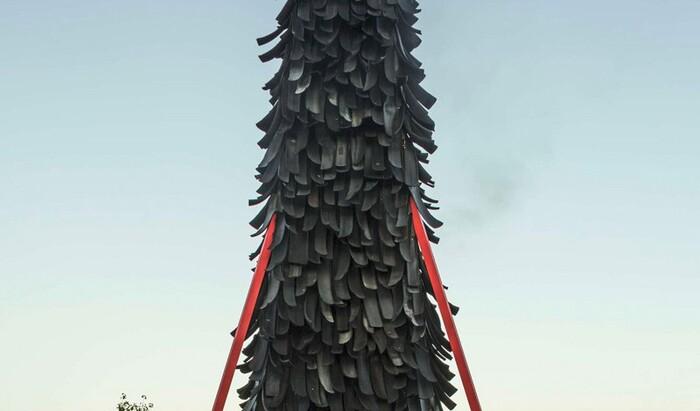 Полуфантастические дома и инсталляции