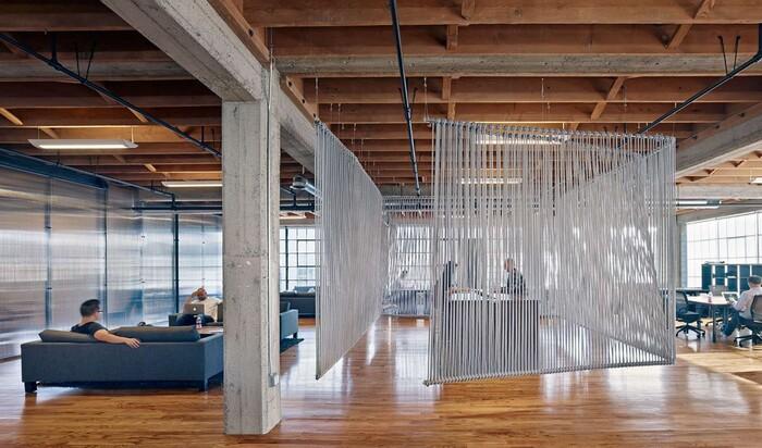 5 офисных интерьеров, которые повышают продуктивность