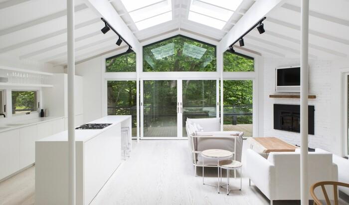 Идеи для дизайна: 10 полностью белых комнат