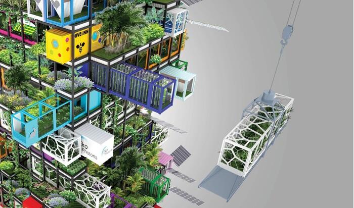 Как будет выглядеть городская ферма будущего?