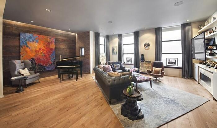 Внутри квартиры Кристин Тиган и Джона Ледженда стоимостью 4,5 миллиона долларов