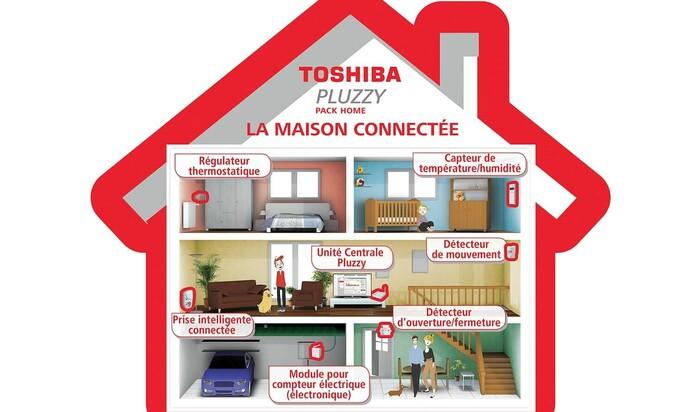 Плаззи: умное отопление от Тошиба наводняет мировой рынок