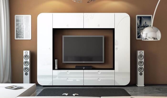 Мебельные стенки в интерьере: особенности выбора каждого вида