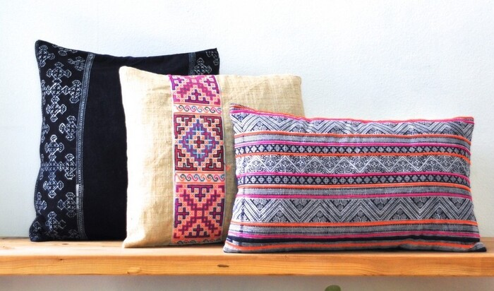 Узоры хмонгов в дизайне интерьера