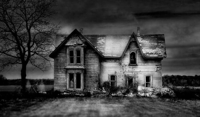 Как продать дом с привидениями?