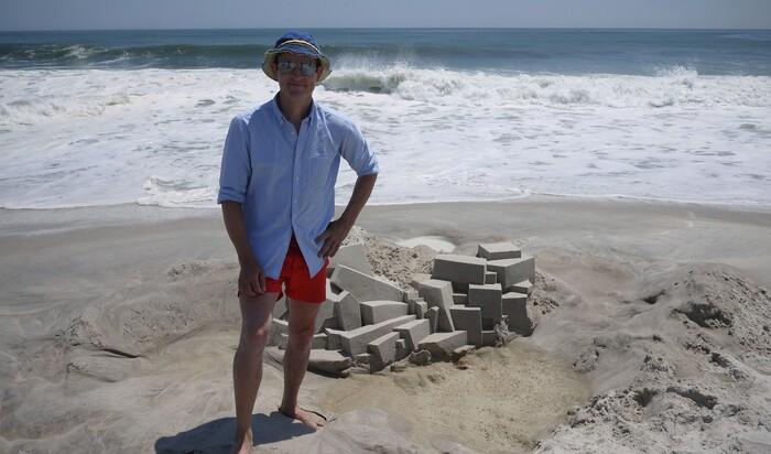 Архитектура замков из песка. Пляжное зодчество