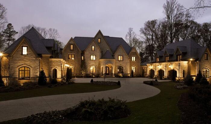 Самый большой средний размер домов в мире